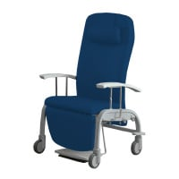 «Fero», 2-in-1 Ruheliege und Pflegesessel, fahrbar