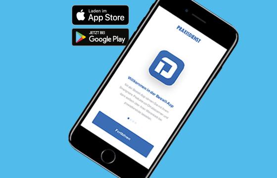 Die Praxisdienst Bestell-App ist da!