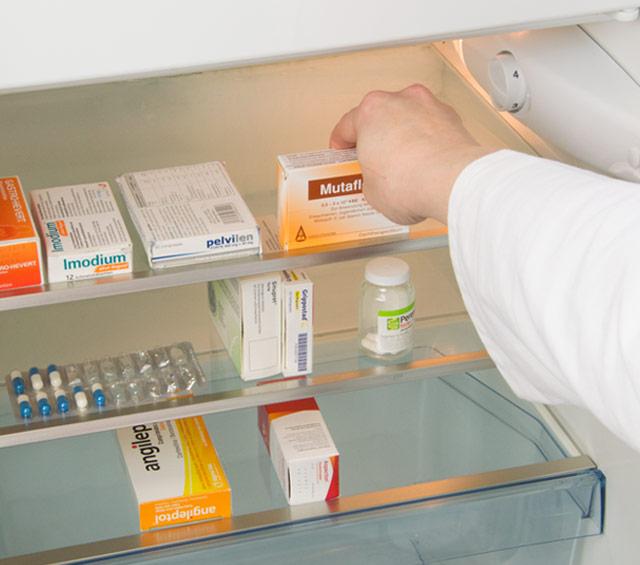Medikamentenkühlschrank für Praxis, Klinik und Labor