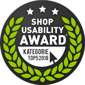 Nominierung Shop Usability Award